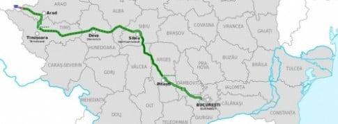 Traseu-Autostrada A1 Bucureşti-Nădlac