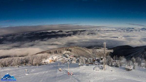 obiective turistice februarie judetul Hunedoara