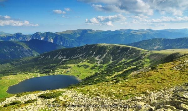 Lacul Zănoaga Munții Retezat