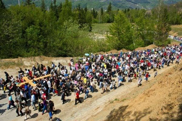 Drumul Crucii evenimente turistice Județul Hunedoara